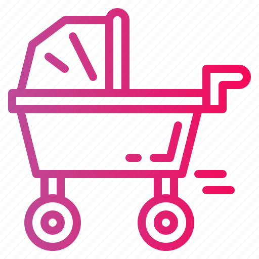 Baby, buggy, pushchair, stroller icon - Download on Iconfinder