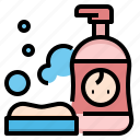baby, bath, cleaning, infant, shampoo, shower, soap icon