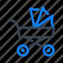 stroller, baby, pram, carriage