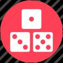 baby, dice, gamble, gambling, kids, roll, toy