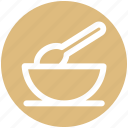 baby, bowl, cute, kids, newborn, spoon, toy icon