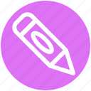 baby pencil, draw, edit, pen, pencil, school, writing icon