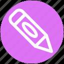 baby pencil, draw, edit, pen, pencil, school, writing