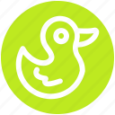 animal, bird, chicken, duck, pet, rubber, toy icon