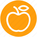 apple, baby, food, fruit, healthy food, nursery icon