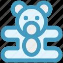 baby, bear, children, kids, teddy, teddy bear, toys icon
