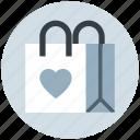 bag, child, fashion, heart, purse, shopping bag, toys bag