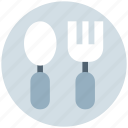 feed, food, fork, kids, spoon, spoon and fork, toy