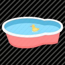 baby, children, infant, kids, pool, swimming icon