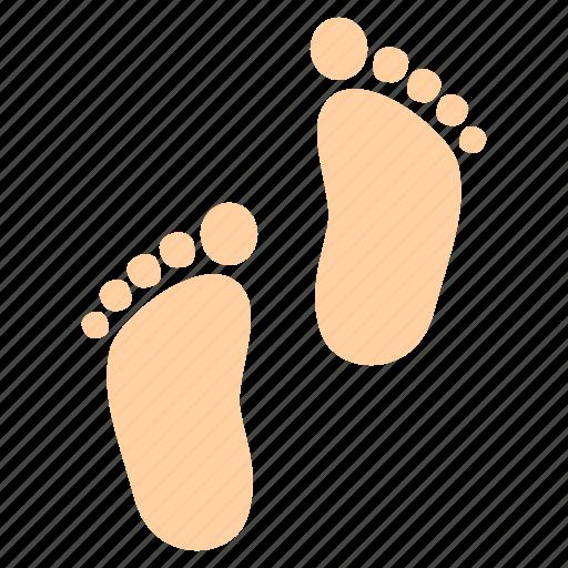 baby, children, foot, housewarming, infant, kids icon