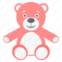 baby, children, infant, kids, teddy icon