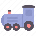 baby, children, engine, infant, kids, rail, toy icon