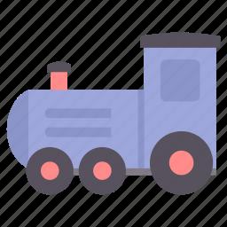 baby, children, engine, infant, kids, rail, toy icon