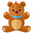 baby, bear, child, infant, maternity, teddy, toy icon