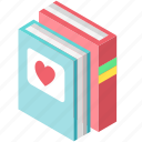 baby, book, child, education, learning, reading, study icon