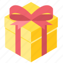 baby, birthday, celebration, gift box, package, present icon