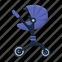baby, child, pram, stroller, transport