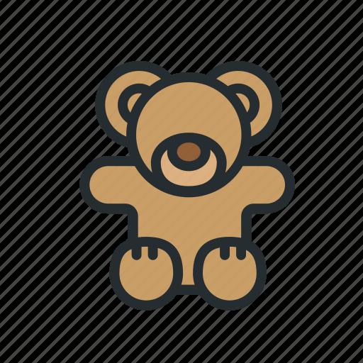 baby, bear, child, kid, kids, teddy, toy icon
