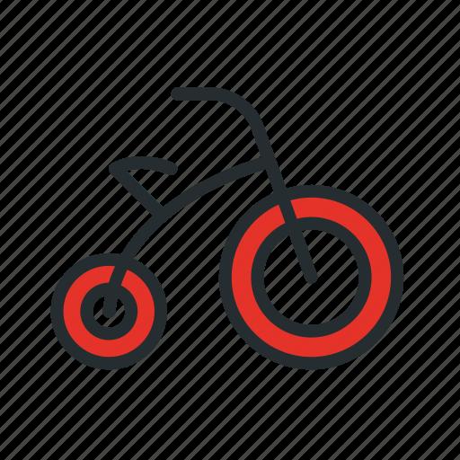 baby, bicycle, bike, child, children, kid, small icon