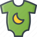 baby, child, children, cloth, grow, overall icon