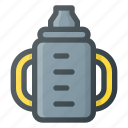 baby, bottle, child, children, feeding, food, milk icon
