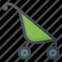 baby, parm, children, cart, child