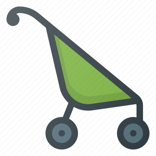 baby, cart, child, children, parm icon