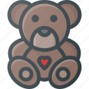 baby, bear, child, children, teddy, toy icon