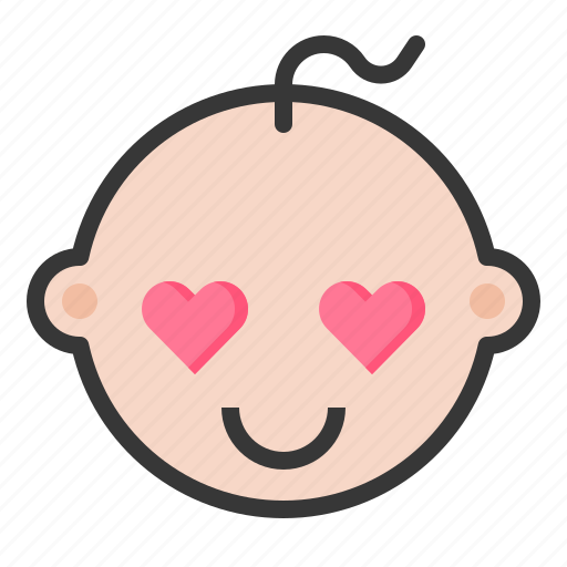 Baby, emoji, emoticon, expression, loved icon - Download on Iconfinder