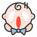 baby, emoji, emoticon, expression, haunted icon