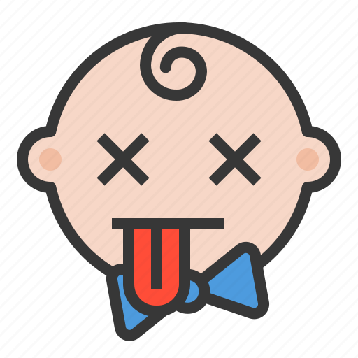 baby, blah, emoji, emoticon, expression icon