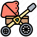baby, carriage, parent, pram, stroller