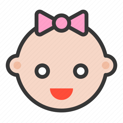 Baby, emoji, emoticon, expression, happy, smile icon - Download on Iconfinder