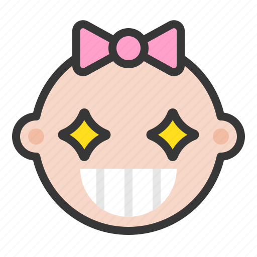 Baby, emoji, emoticon, expression, special icon - Download on Iconfinder