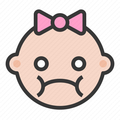 annoyed, baby, disappointed, emoji, emoticon, expression, meh icon
