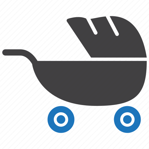 baby, carriage, pram, stroller icon