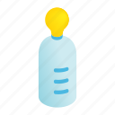 baby, bottle, drink, feeding, isometric, milk, toddler icon