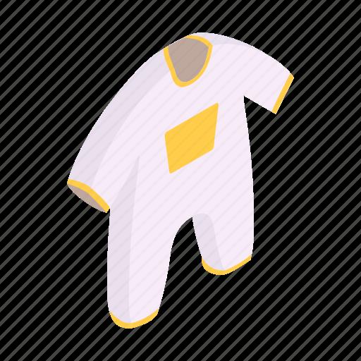 bodysuit, born, child, cute, fashion, isometric, new icon