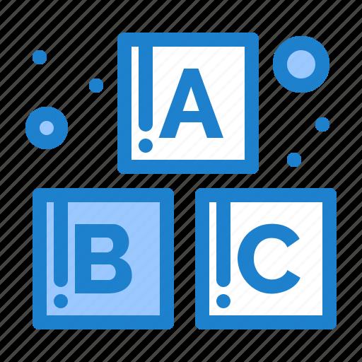 Alphabet, baby, blocks icon - Download on Iconfinder
