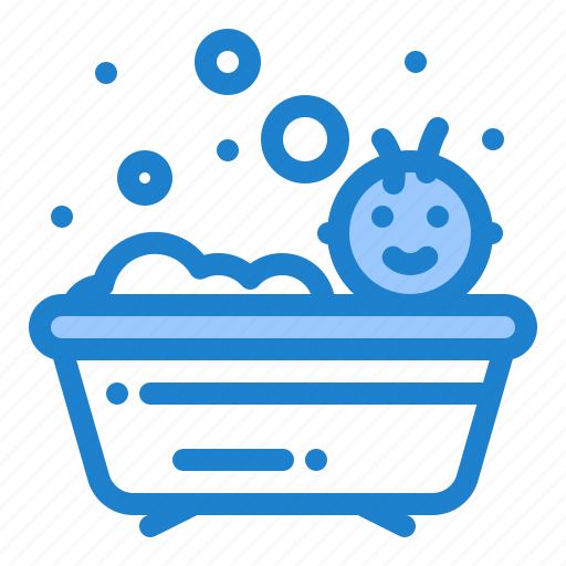 Baby, bath, bathing, shower icon - Download on Iconfinder