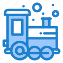 baby, play, time, toy, train icon