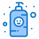 baby, bottle, lotion, shampoo icon