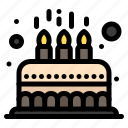 cake, child, cute, kid, party icon