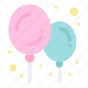 baby, balloon, stuff icon