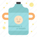 baby, bottle, infant icon