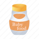 baby, food, vegetable, breakfast, fruit