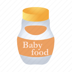 baby, breakfast, food, fruit, vegetable icon