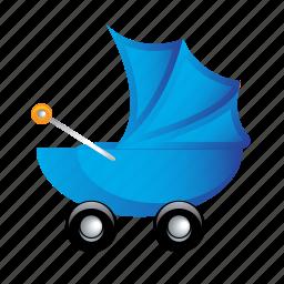 baby, child, kids, newborn, wheels icon