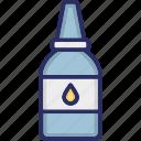 dispenser, eye drops, eye tube, healthcare icon