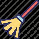 broom, cleaning tool, duster, sweep
